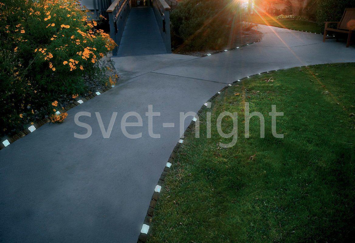 Подсветка садовой дорожки своими руками 97